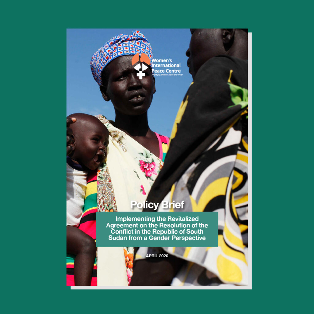 Promoting Women's Participation in the Implementation of the Revitalised Agreement for the Resolution of Conflict in South Sudan