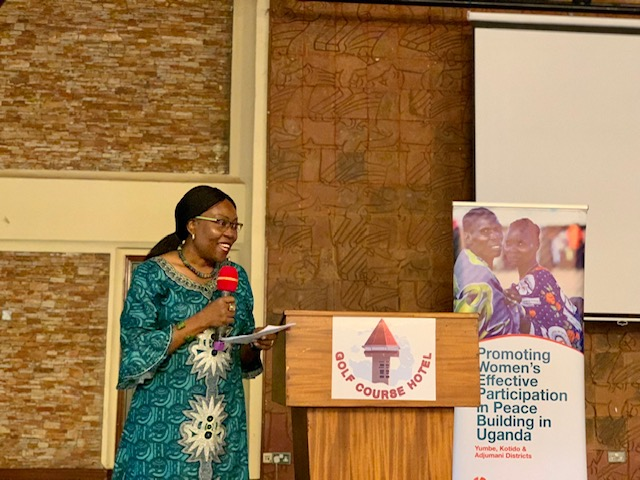 Promoting Women's Effective Participation in Peace Building in Uganda, An End of Project Learning and Sharing workshop