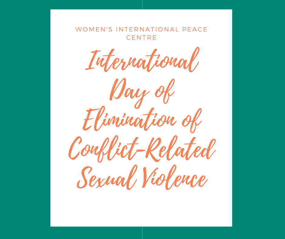 International Day of Elimination of Conflict-Related Sexual Violence