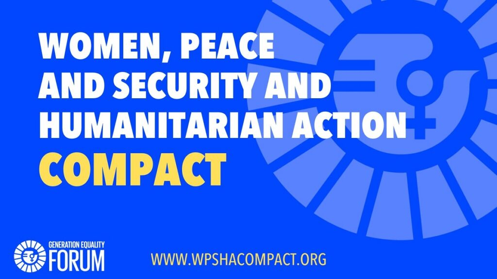 Women, Peace and Security and Humanitarian Action Compact Launch